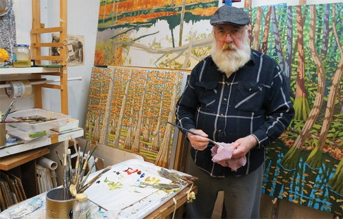 Bill Iles In His Lake Charles Studio, 2020. Photo By Amanda Hext
