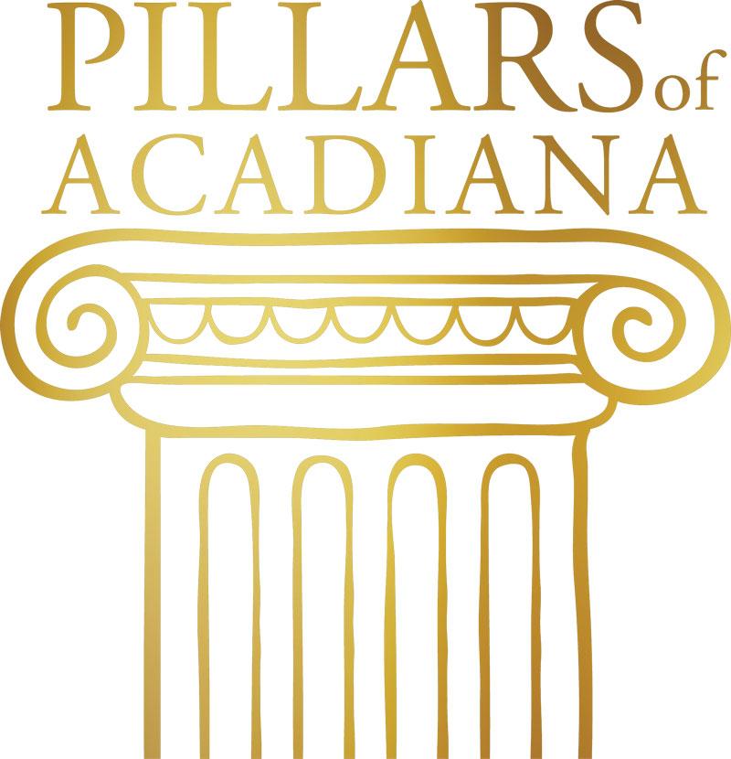 Gold Pillarsofacadiana Vertical